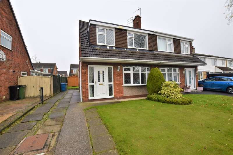 3 Bedrooms Semi Detached House for sale in Malmesbury Road, Cheadle Hulme