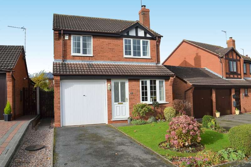 3 Bedrooms Detached House for sale in Sheriffs Close, Lichfield