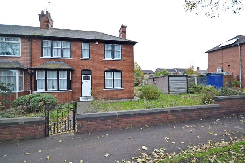 3 Bedrooms Semi Detached House for sale in Denhale Avenue, Alverthorpe, Wakefield