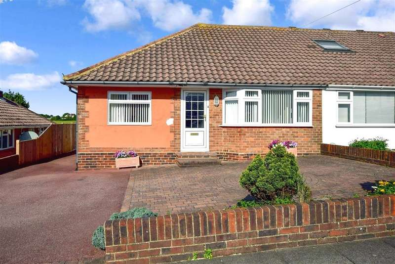 2 Bedrooms Semi Detached Bungalow for sale in The Brow, Woodingdean, Brighton, East Sussex