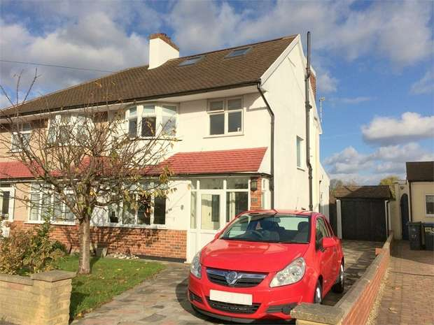 4 Bedrooms End Of Terrace House for sale in Rhodrons Avenue, Chessington