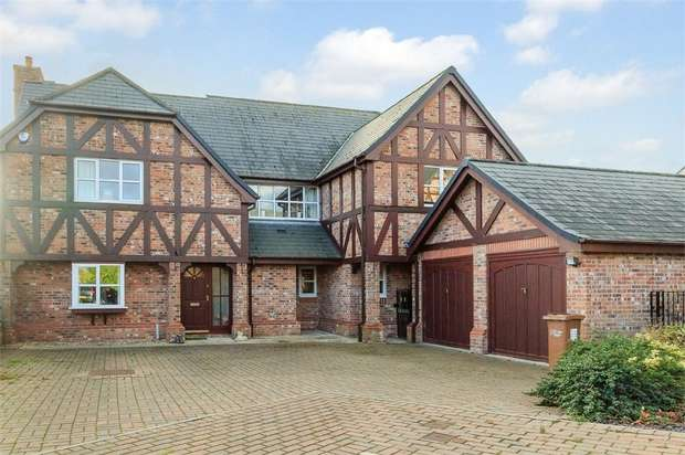 5 Bedrooms Link Detached House for sale in Bryn Rhyd, Northop, Mold, Flintshire
