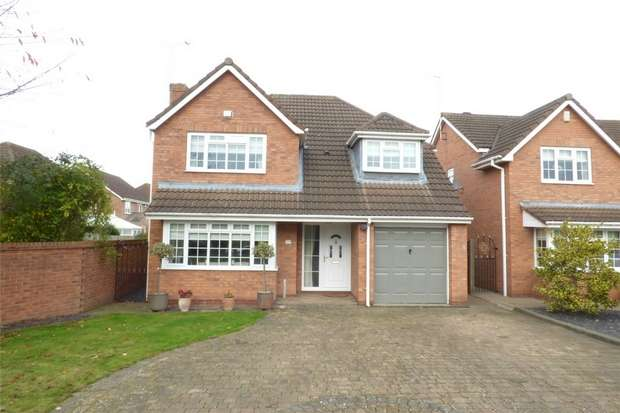 4 Bedrooms Detached House for sale in Holly Walk, Whitestone, Nuneaton, Warwickshire
