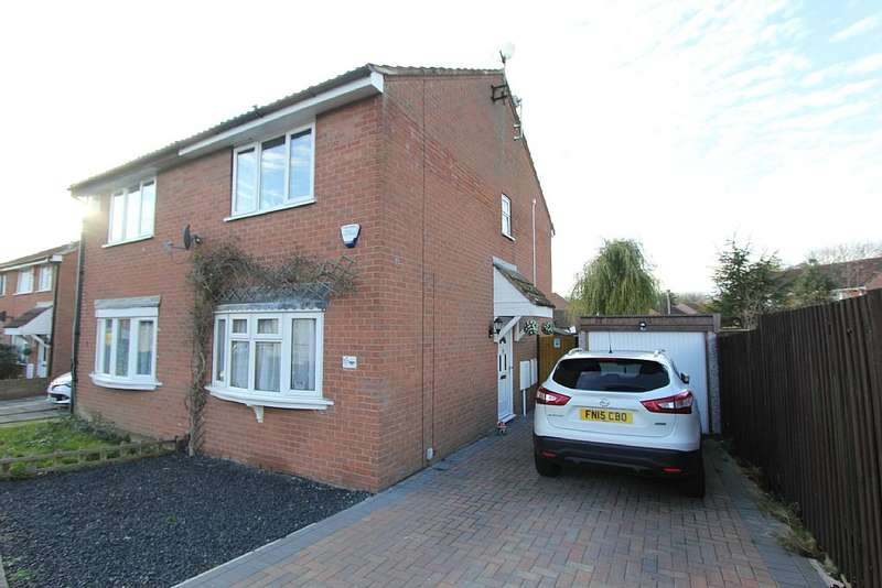 2 Bedrooms Semi Detached House for sale in Stoneywell Road, Leicester, Leicestershire, LE4