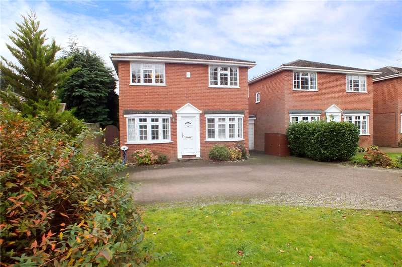4 Bedrooms Detached House for sale in Tudor Way, Church Crookham, Fleet, GU52