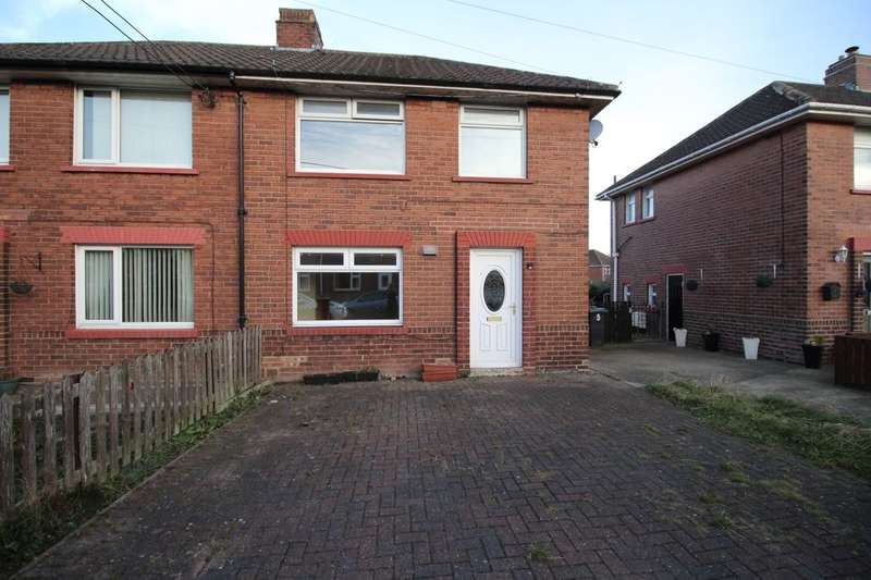 3 Bedrooms Semi Detached House for sale in Elmdale Road, Consett, DH8