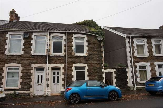 3 Bedrooms End Of Terrace House for sale in Morgans Road, Neath, West Glamorgan