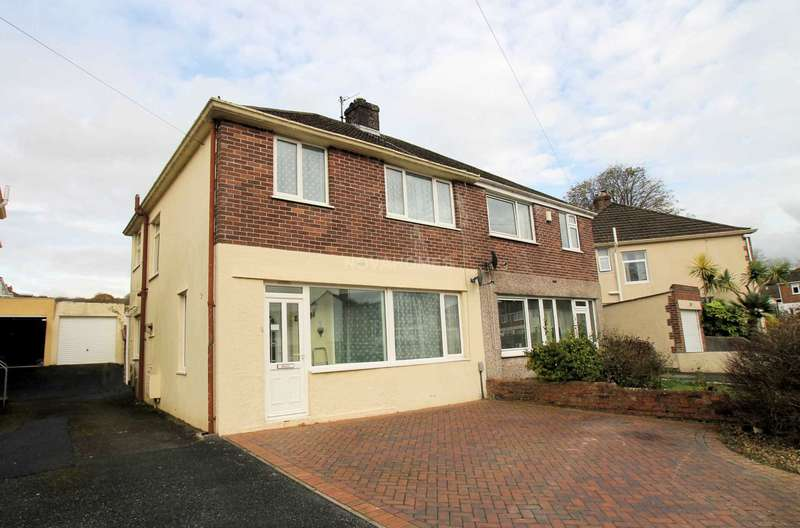 3 Bedrooms Semi Detached House for sale in St Margarets Road, Plympton, PL7 4RG