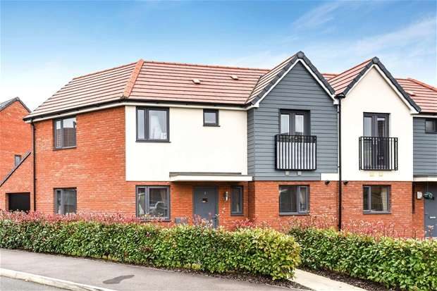 3 Bedrooms Semi Detached House for sale in Arthur Black Way, Wootton