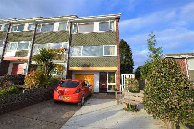 3 Bedrooms End Of Terrace House for sale in Crownhill Rise, Torquay, Devon