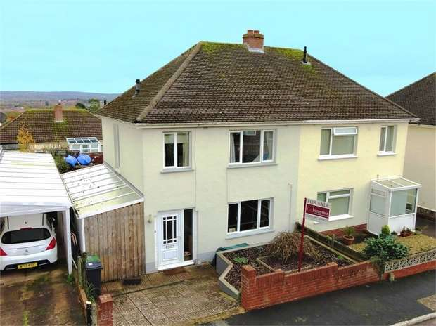 3 Bedrooms Semi Detached House for sale in Fox Road, Beacon Heath, EXETER, Devon