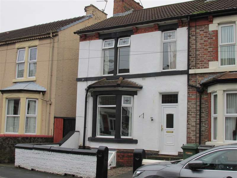 3 Bedrooms End Of Terrace House for sale in Urmson Road, Wallasey