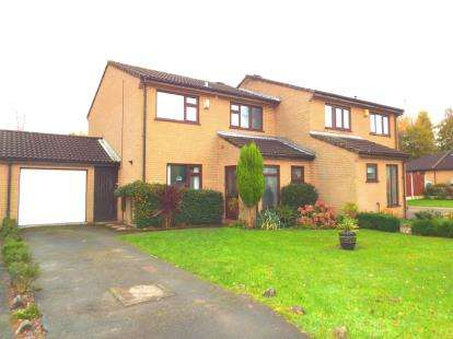 3 Bedrooms Semi Detached House for sale in Richmond Avenue, Grappenhall, Warrington, Cheshire