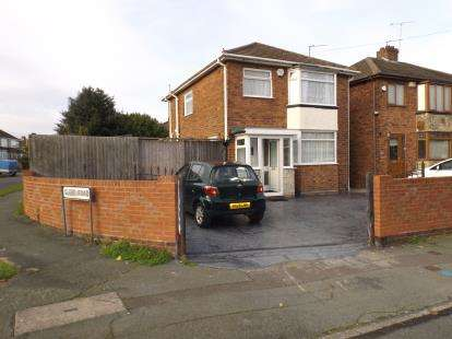 3 Bedrooms Detached House for sale in Dilloways Lane, Willenhall, West Midlands