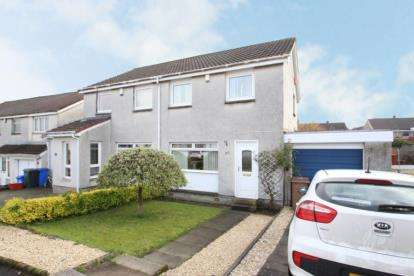 3 Bedrooms Semi Detached House for sale in Lochgreen Place, Kilmarnock, East Ayrshire