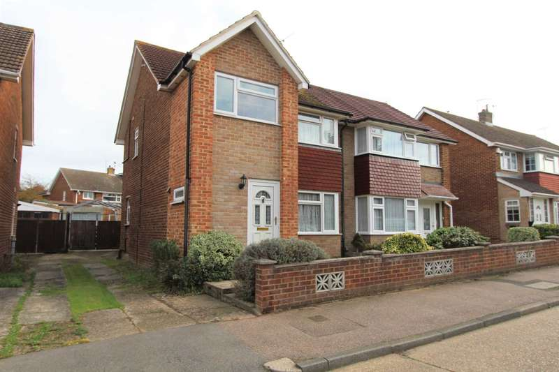 3 Bedrooms Semi Detached House for sale in Windhover Way, Gravesend