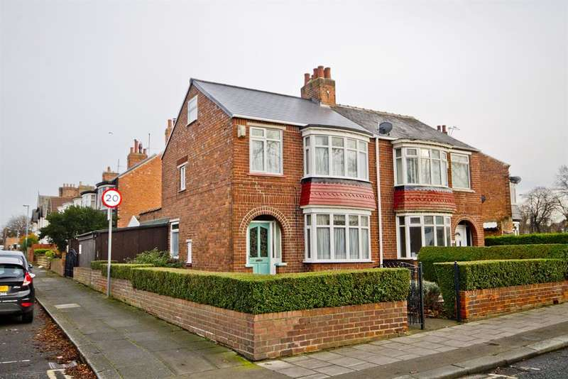3 Bedrooms Semi Detached House for sale in Clairville Road, Longlands, Middlesbrough, TS4 2HH