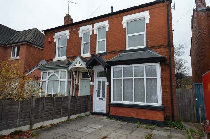 4 Bedrooms Semi Detached House for sale in Taylor Road, Kings Heath , Birmingham, B13