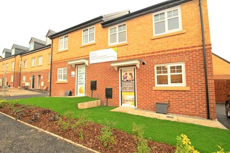 3 Bedrooms Semi Detached House for sale in The Clarendon, Gibfield Park Avenue, Atherton, Manchester, M46