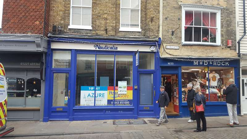 Shop Commercial for rent in 34 BURGATE, Canterbury