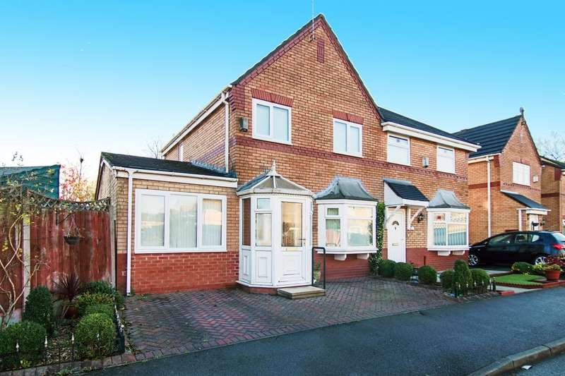 2 Bedrooms Semi Detached House for sale in Marlowe Drive, Liverpool, L12