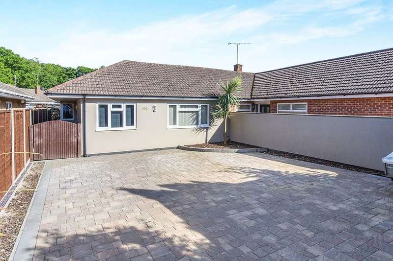 3 Bedrooms Semi Detached Bungalow for sale in Milton Road, Cowplain, Waterlooville, PO8
