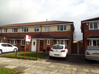 3 Bedrooms End Of Terrace House for sale in Albert Road, Whitefield, Manchester, Greater Manchester