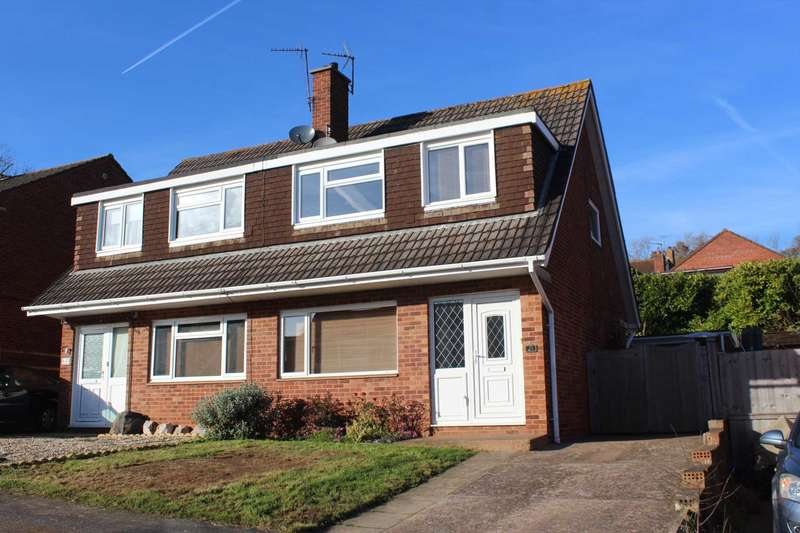 3 Bedrooms Semi Detached House for sale in Little Meadow, Exmouth