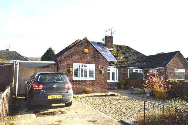 2 Bedrooms Semi Detached Bungalow for sale in Purbeck Way, Prestbury, CHELTENHAM, GL52 5BZ
