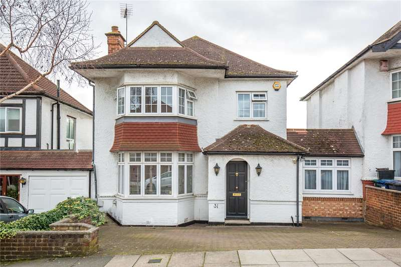 3 Bedrooms Detached House for sale in Elliot Road, Hendon, London, NW4