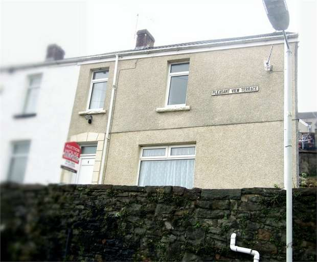 3 Bedrooms End Of Terrace House for sale in Pleasant View Terrace, Swansea, West Glamorgan