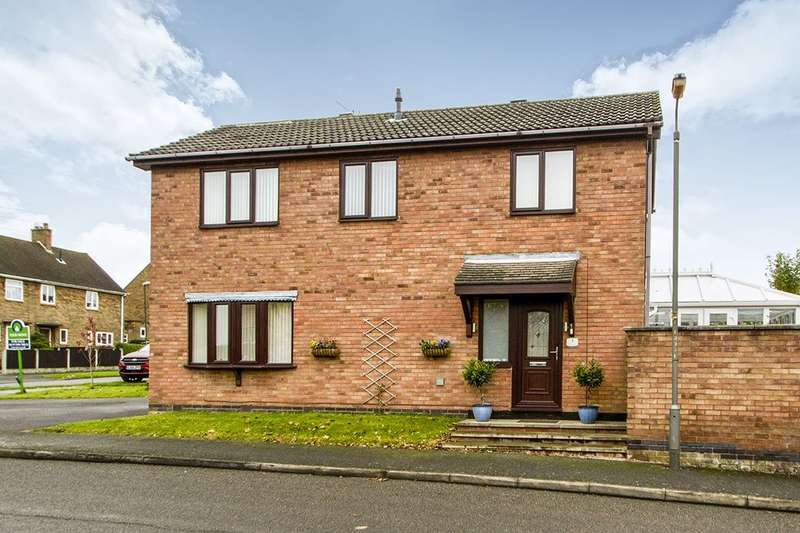 4 Bedrooms Detached House for sale in Crown Hill Way, Stanley Common, Ilkeston, DE7