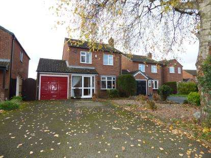 3 Bedrooms Detached House for sale in Caroline Close, Alvaston, Derby, Derbyshire