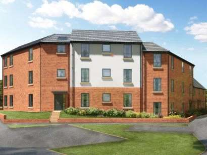 1 Bedroom Flat for sale in Meldon Fields, Okehampton, Devon