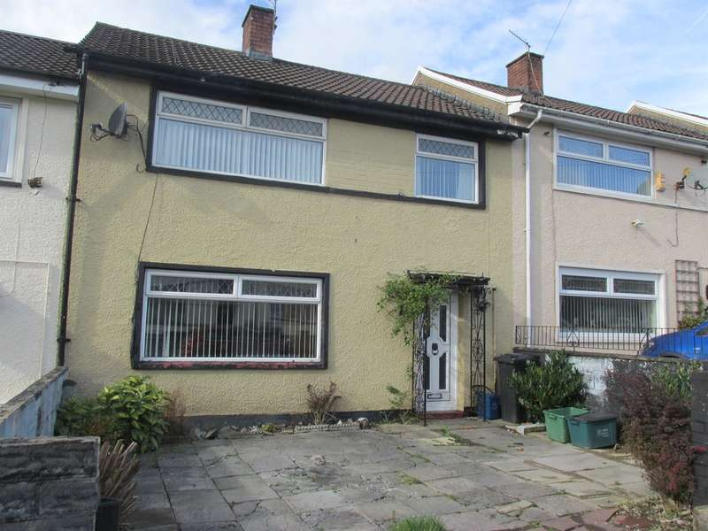 3 Bedrooms Terraced House for sale in Gurnos Road, Merthyr Tydfil