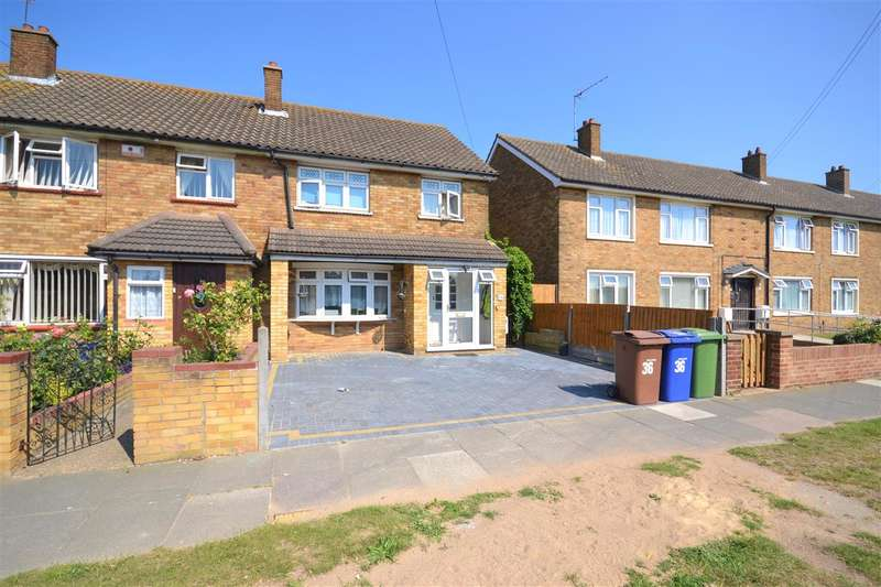 3 Bedrooms End Of Terrace House for sale in Longhouse Road, Chadwell St Mary