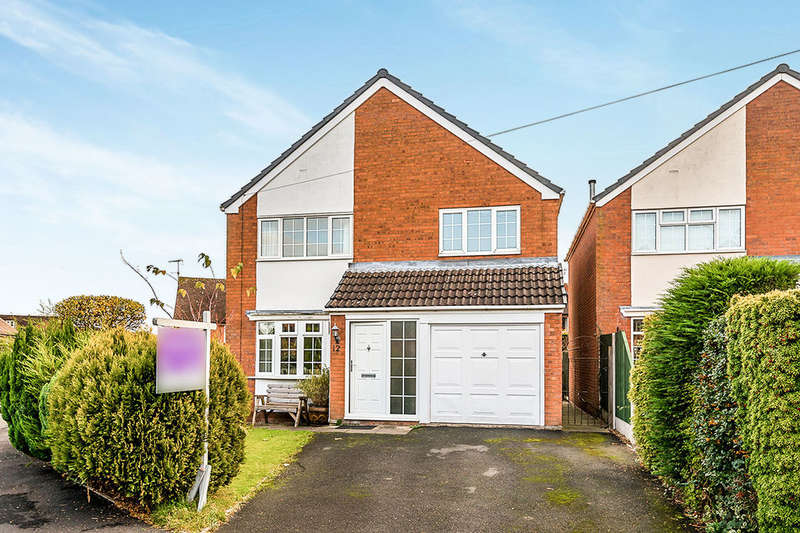 3 Bedrooms Detached House for sale in Usulwall Close, Eccleshall, Stafford, ST21