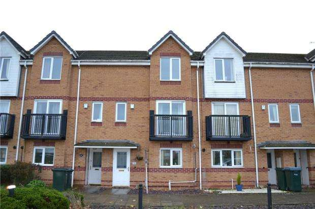 4 Bedrooms Terraced House for sale in Trimpley Drive, Daimler Green, Coventry, West Midlands