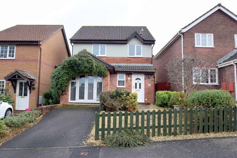 3 Bedrooms Detached House for sale in 45 Badgers Mead, Brackla, Bridgend, Bridgend County Borough, CF31 2PZ.