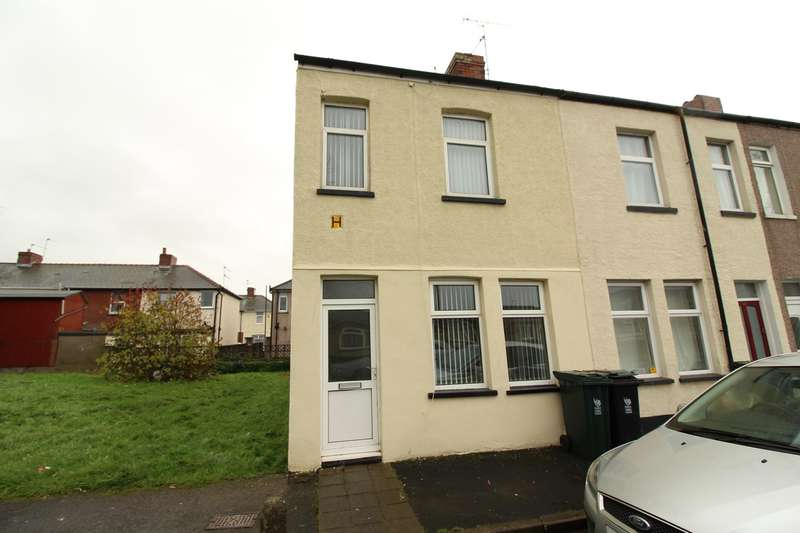 2 Bedrooms End Of Terrace House for sale in Magor Street, Newport, NP19