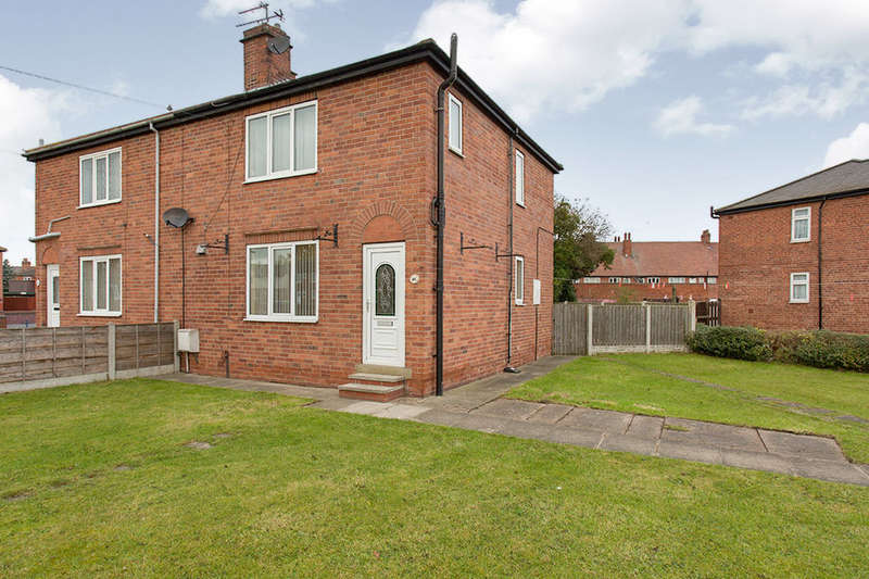 3 Bedrooms Semi Detached House for sale in Park Crescent, Airedale, Castleford, WF10