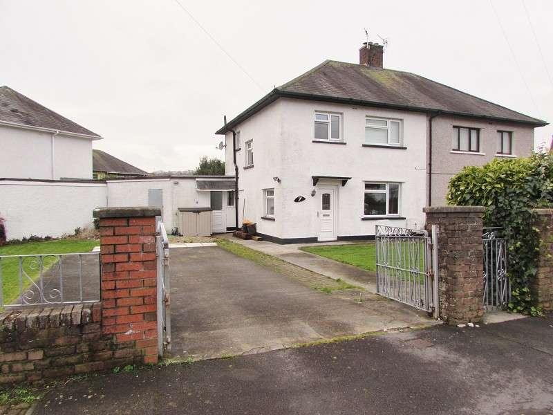 3 Bedrooms Semi Detached House for sale in 7 Ton-y-groes , Pencoed, Bridgend. CF35 5PL