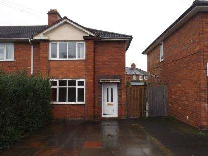 3 Bedrooms End Of Terrace House for sale in Dorlcote Road, Alum Rock, Birmingham, West Midlands