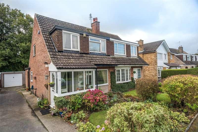 3 Bedrooms Semi Detached House for sale in Plantation Gardens, Leeds, West Yorkshire, LS17