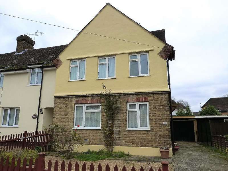 3 Bedrooms End Of Terrace House for sale in Pear Tree Avenue, Yiewsley, UB7 8DF