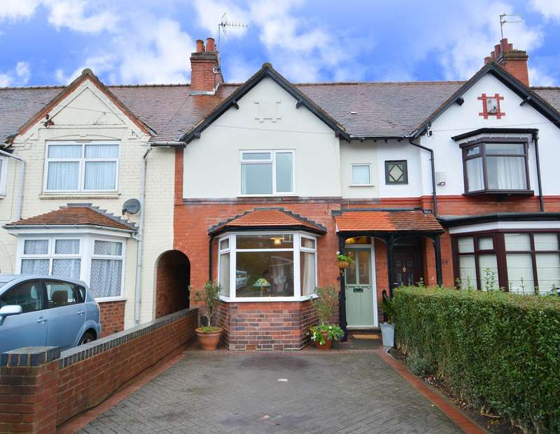 3 Bedrooms Terraced House for sale in Willow Avenue, Edgbaston, B17