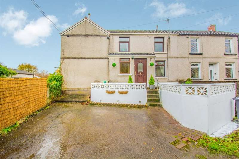 2 Bedrooms Semi Detached House for sale in Shop Houses, Llwydcoed, ABERDARE