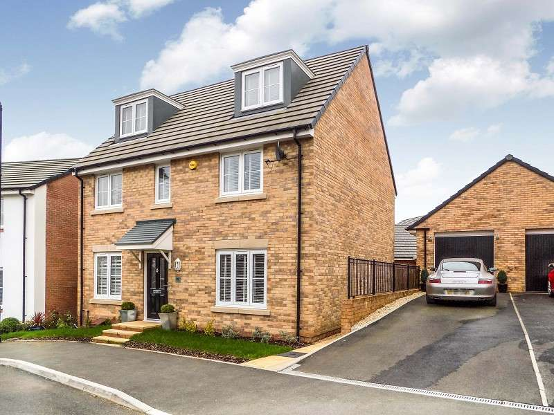 5 Bedrooms Detached House for sale in Clos Yr Eryr , Coity, Bridgend. CF35 6HF