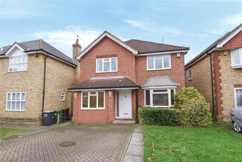 4 Bedrooms Detached House for sale in The Birches, Bushey, WD23