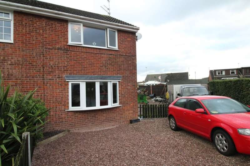 2 Bedrooms Semi Detached House for sale in Hawthorne Close, Congleton, CW12